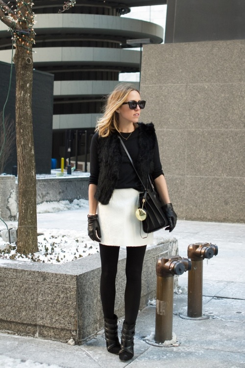 This picture of Jacey Duprise was featured on her blog, The Damsel in Dior, and showcases the Isabel Marant booties